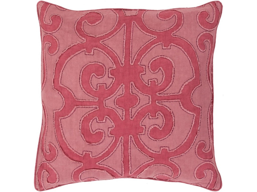 Surya Amelia20 x 20 x 4 Down Throw Pillow