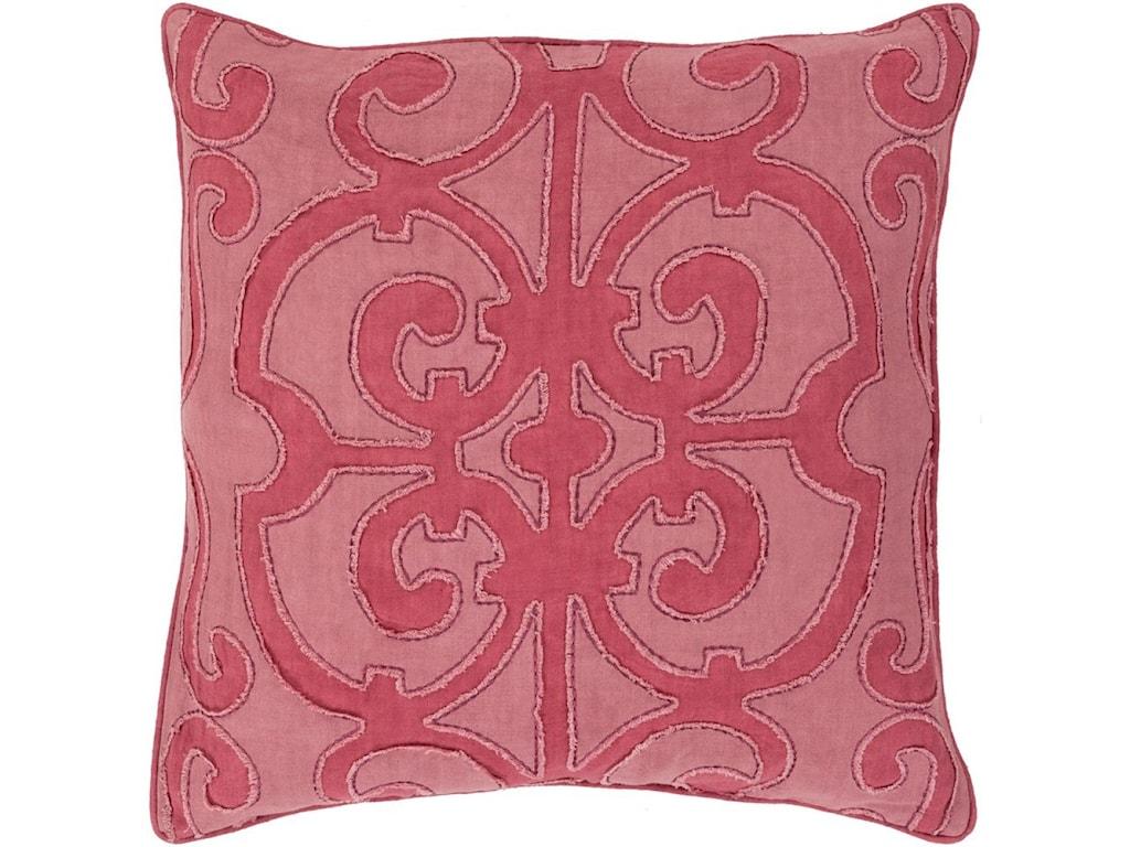 Surya Amelia22 x 22 x 5 Down Throw Pillow