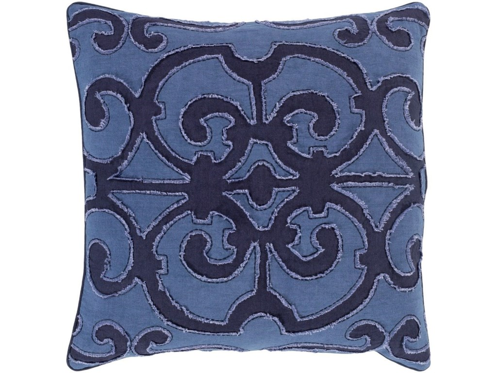 Surya Amelia18 x 18 x 4 Down Throw Pillow