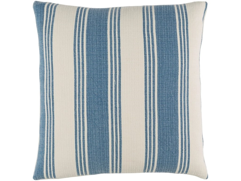 Surya Anchor Bay18 x 18 x 4 Polyester Throw Pillow