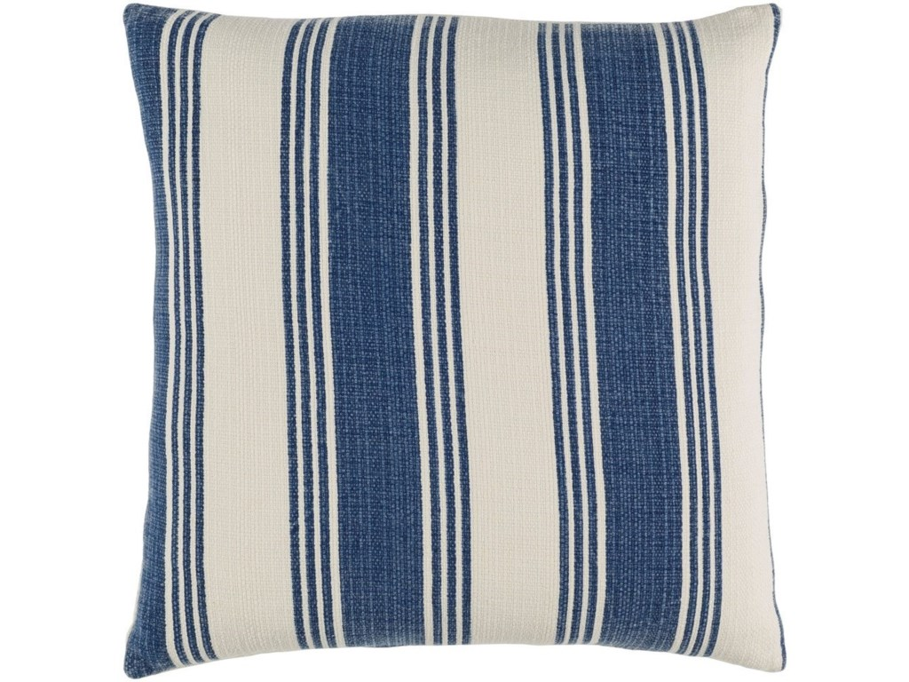 Surya Anchor Bay20 x 20 x 4 Down Throw Pillow