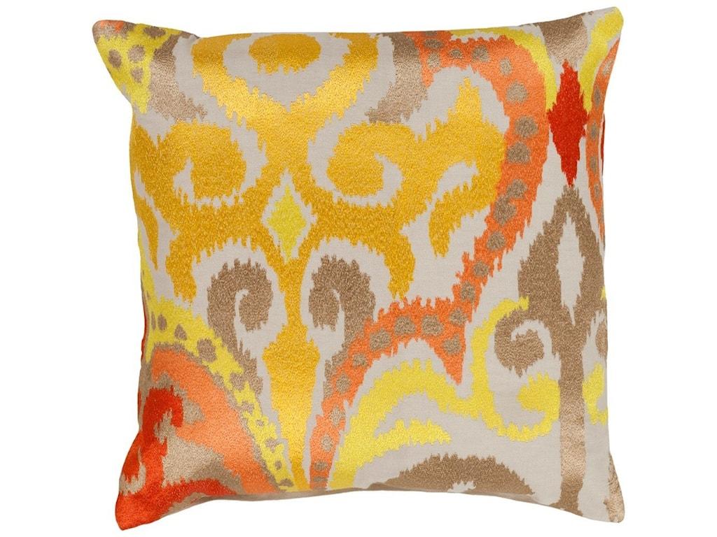 Surya Ara20 x 20 x 4 Down Throw Pillow