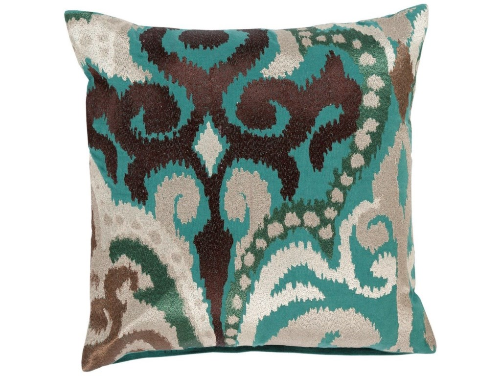 Surya Ara20 x 20 x 4 Polyester Throw Pillow