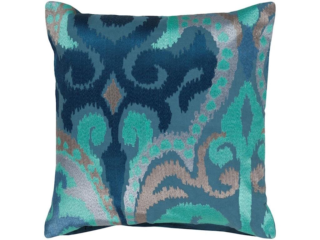 Surya Ara22 x 22 x 5 Down Throw Pillow