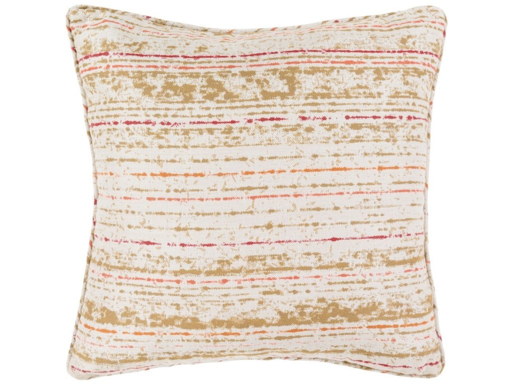 Surya Arie20 x 20 x 4 Polyester Throw Pillow