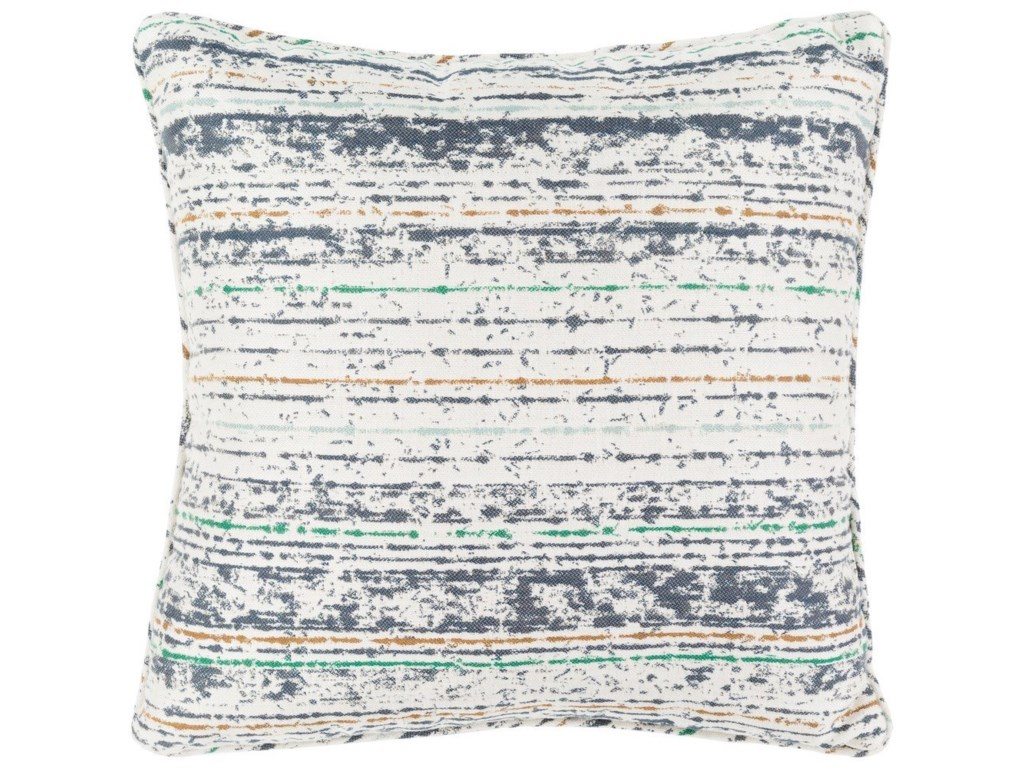 Surya Arie16 x 16 x 4 Polyester Throw Pillow