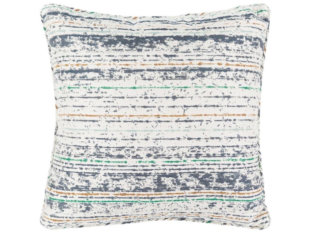 Surya Arie20 x 20 x 4 Polyester Throw Pillow