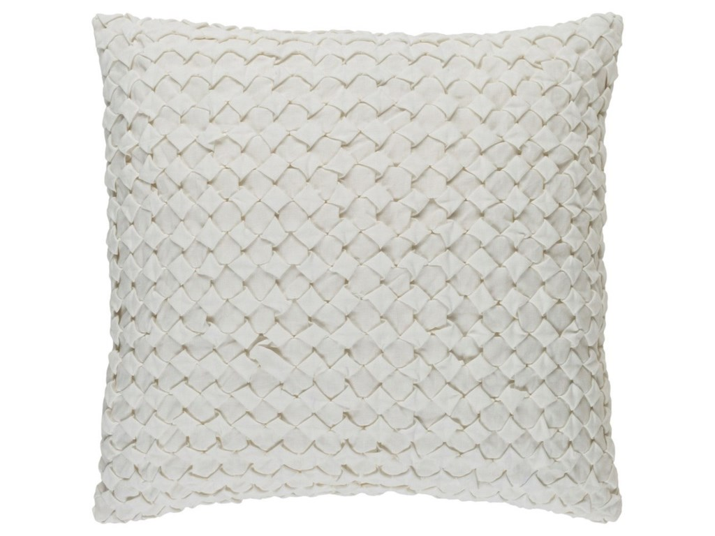 Surya Ashlar18 x 18 x 4 Down Throw Pillow