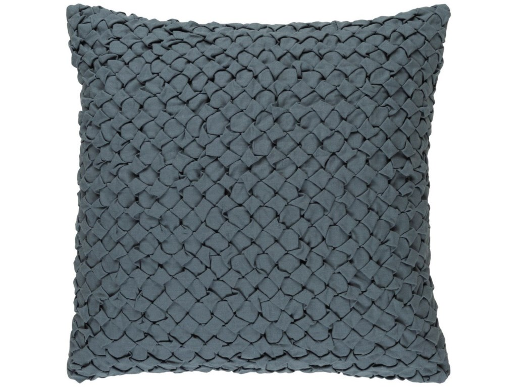 Surya Ashlar22 x 22 x 5 Polyester Throw Pillow