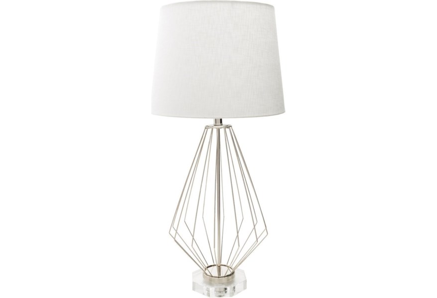Surya Axs Axs100 Tbl Modern Table Lamp Dunk Bright Furniture Table Lamps