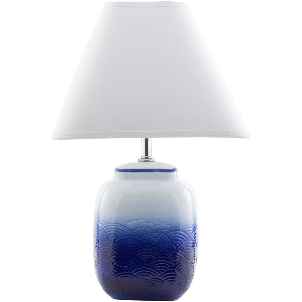 Surya Azul Azl621 Tbl Ombre Blue Modern Table Lamp Dean Bosler S Table Lamps