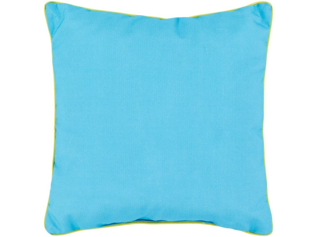 Surya Bahari16 x 16 x 4 Polyester Throw Pillow