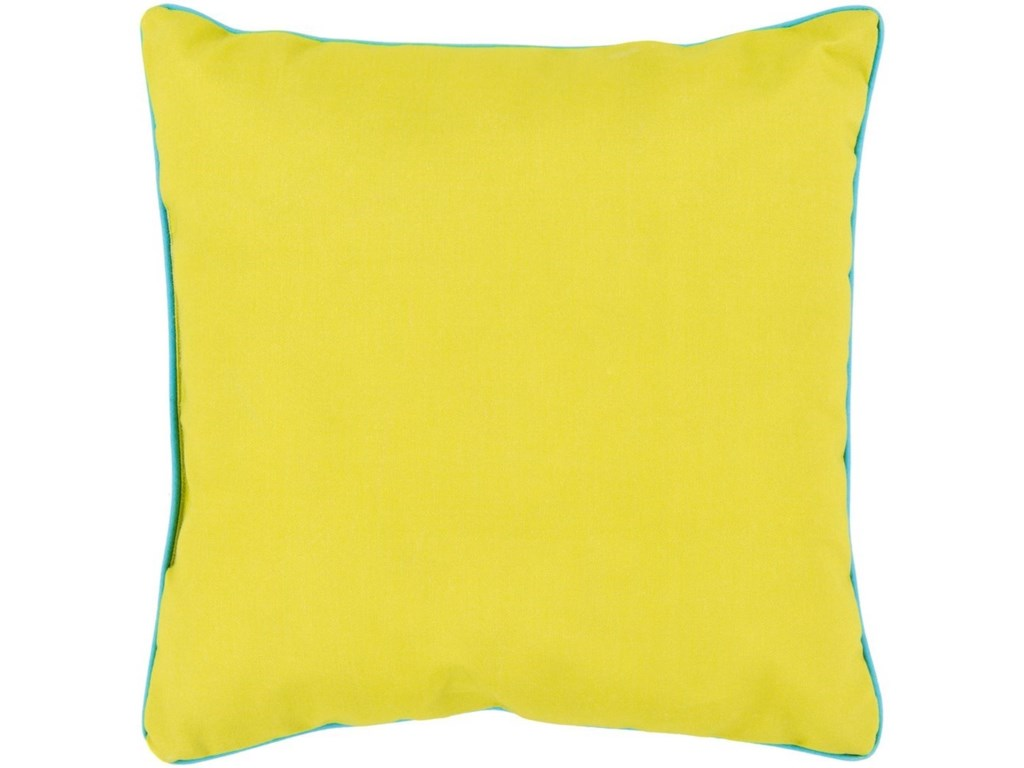 Surya Bahari16 x 16 x 4 Polyester Throw Pillow