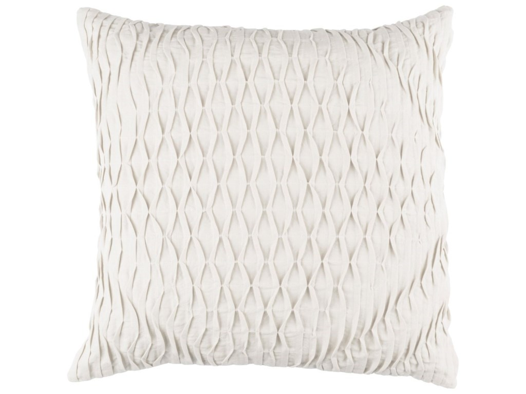 Surya Baker18 x 18 x 4 Down Throw Pillow