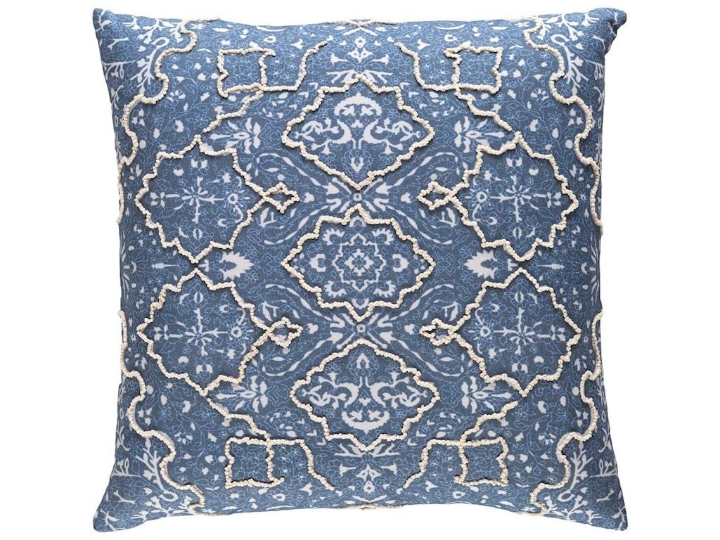 Surya Batik18 x 18 x 4 Down Pillow Kit