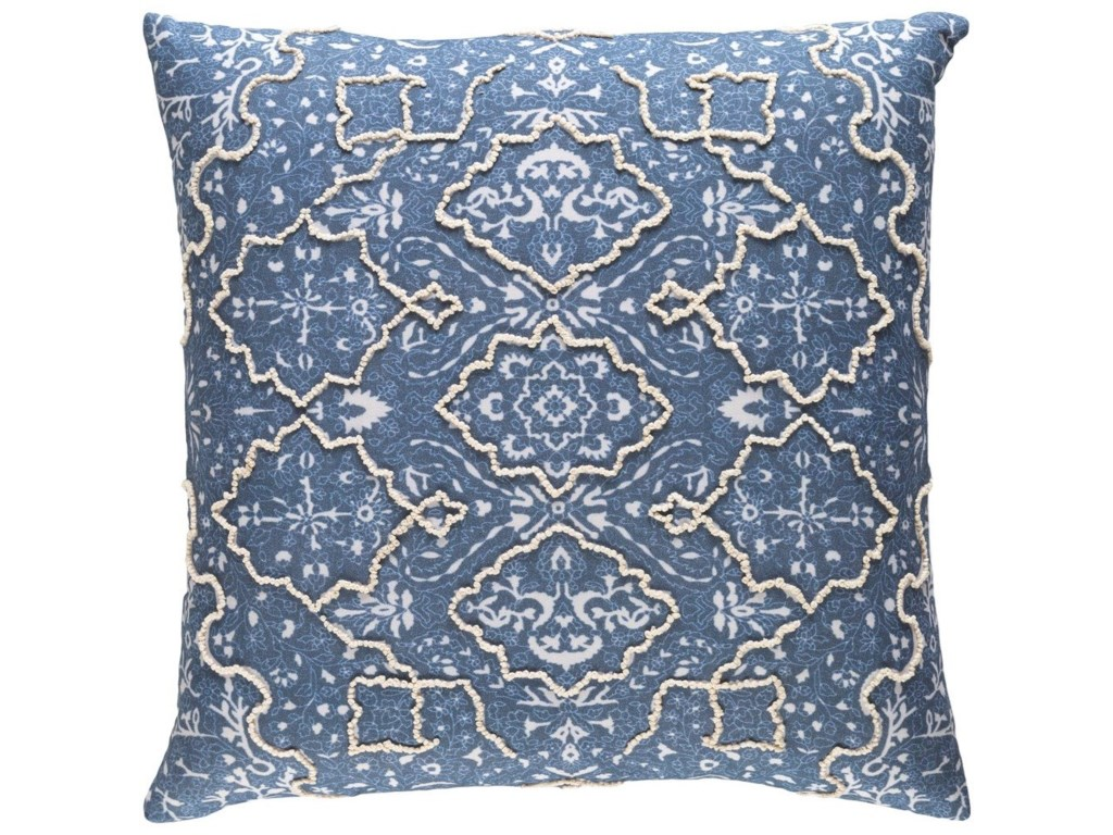 Surya Batik22 x 22 x 5 Down Pillow Kit