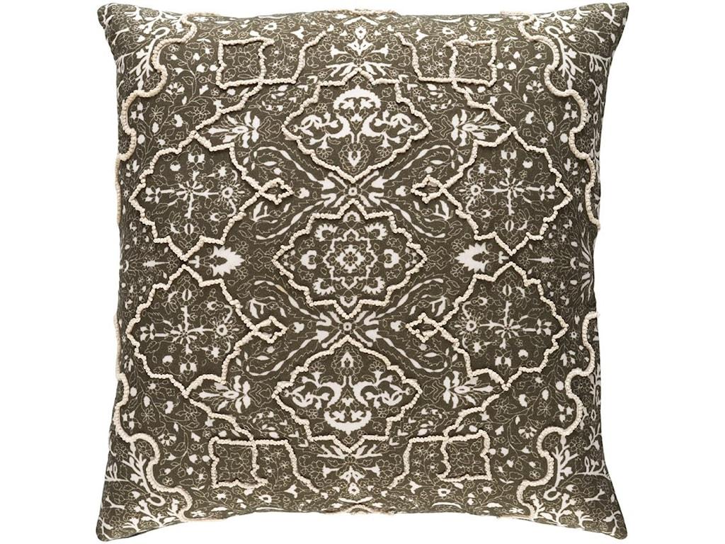 Surya Batik20 x 20 x 4 Down Pillow Kit