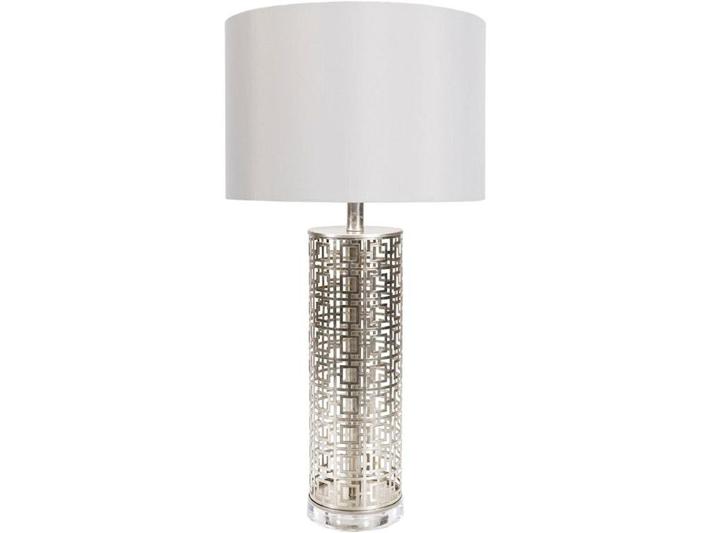 Surya BeatricePainted Glam Table Lamp