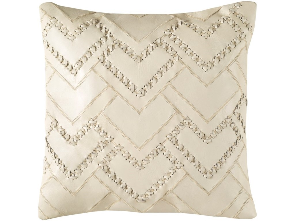 Surya Bedford18 x 18 x 4 Polyester Throw Pillow