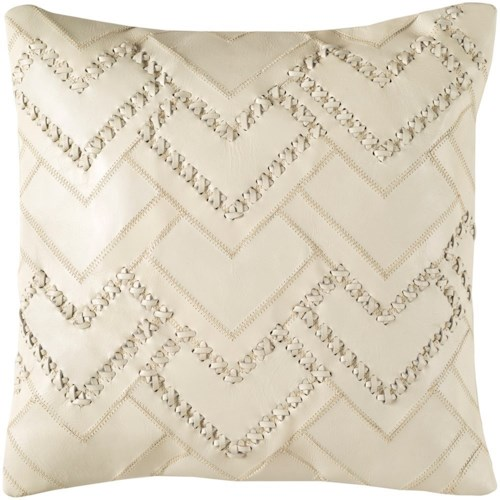 Surya Bedford 18 x 18 x 4 Polyester Throw Pillow