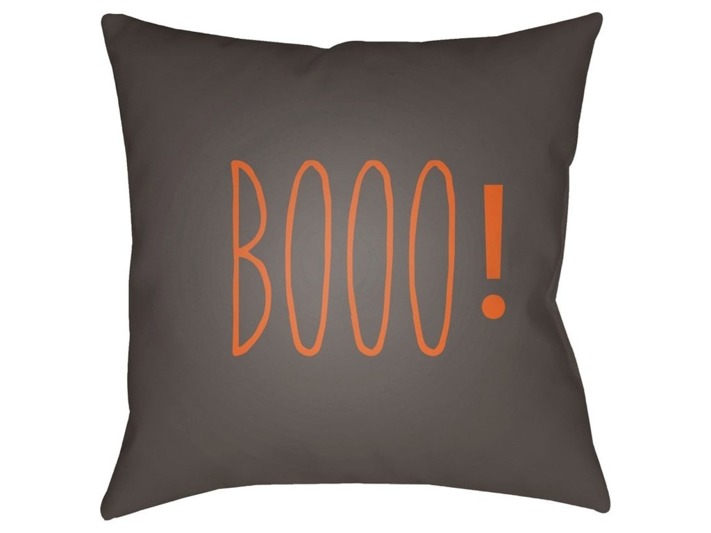 Surya Boo20 x 20 x 4 Polyester Throw Pillow