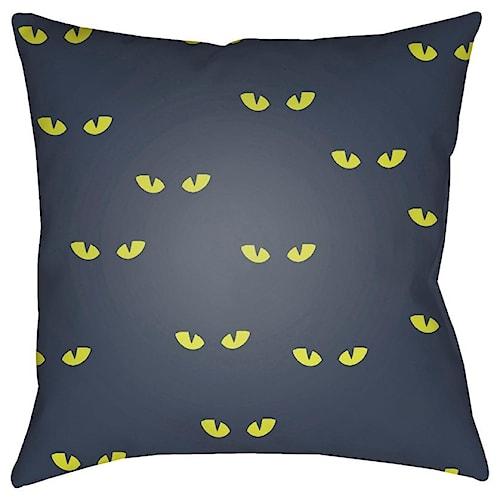 Surya Boo 20 x 20 x 4 Polyester Throw Pillow