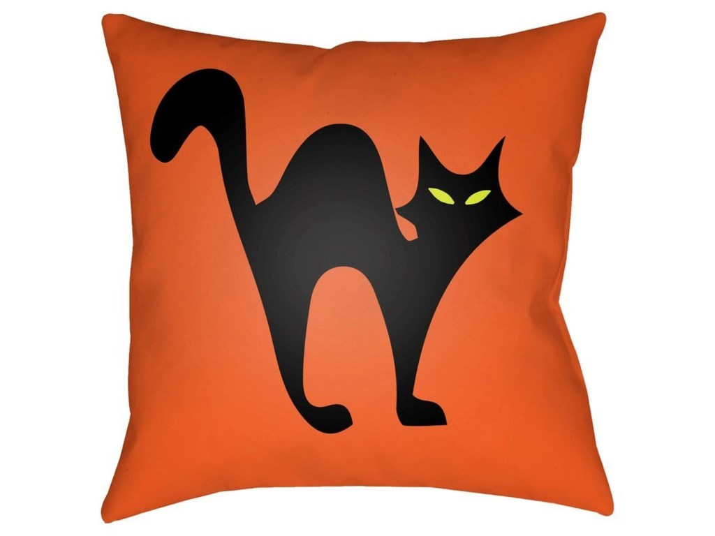 Surya Boo18 x 18 x 4 Polyester Throw Pillow