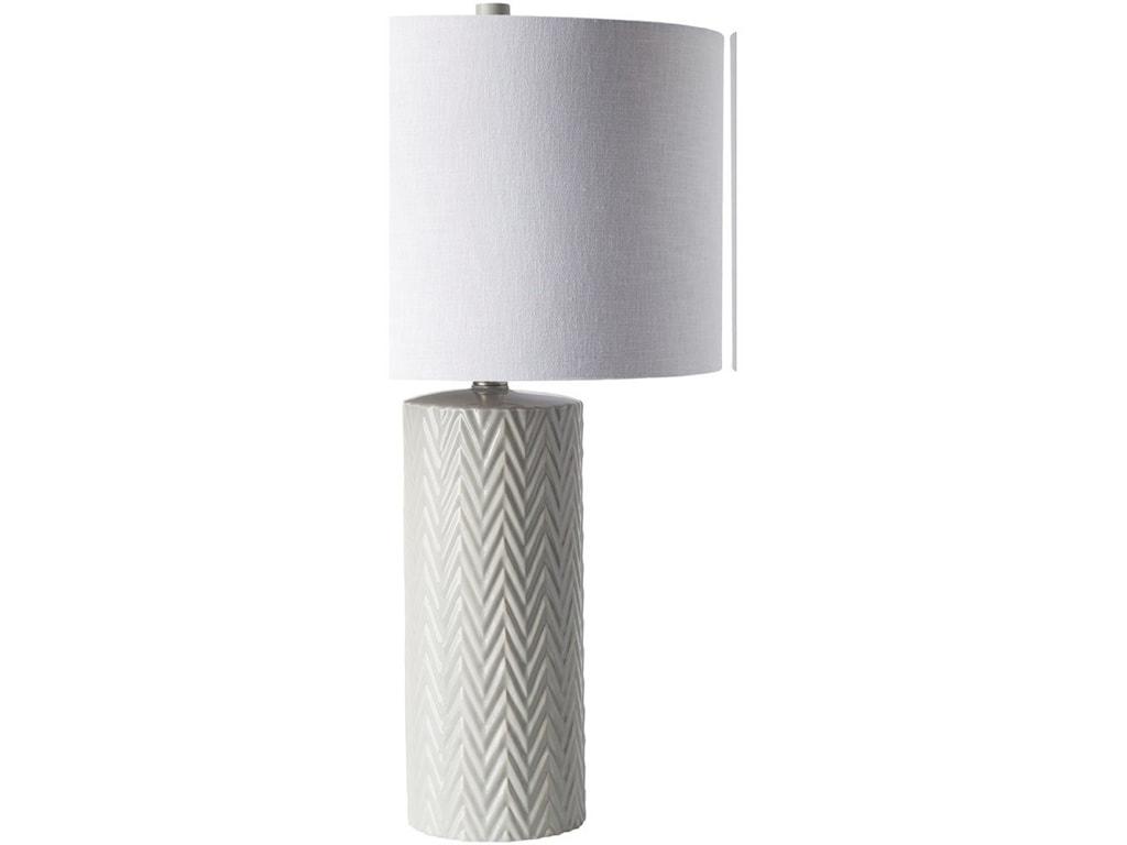 9596 BranchGlazed Modern Table Lamp