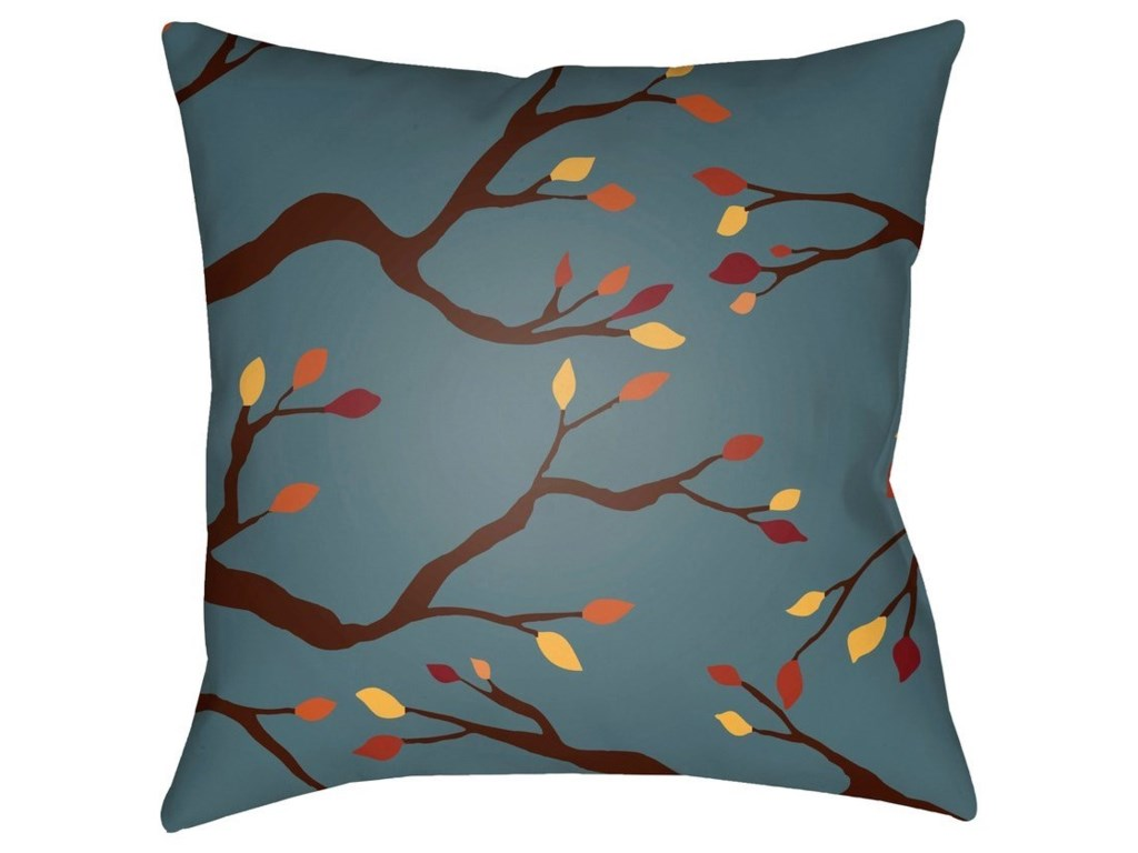 Surya Branches20 x 20 x 4 Polyester Throw Pillow