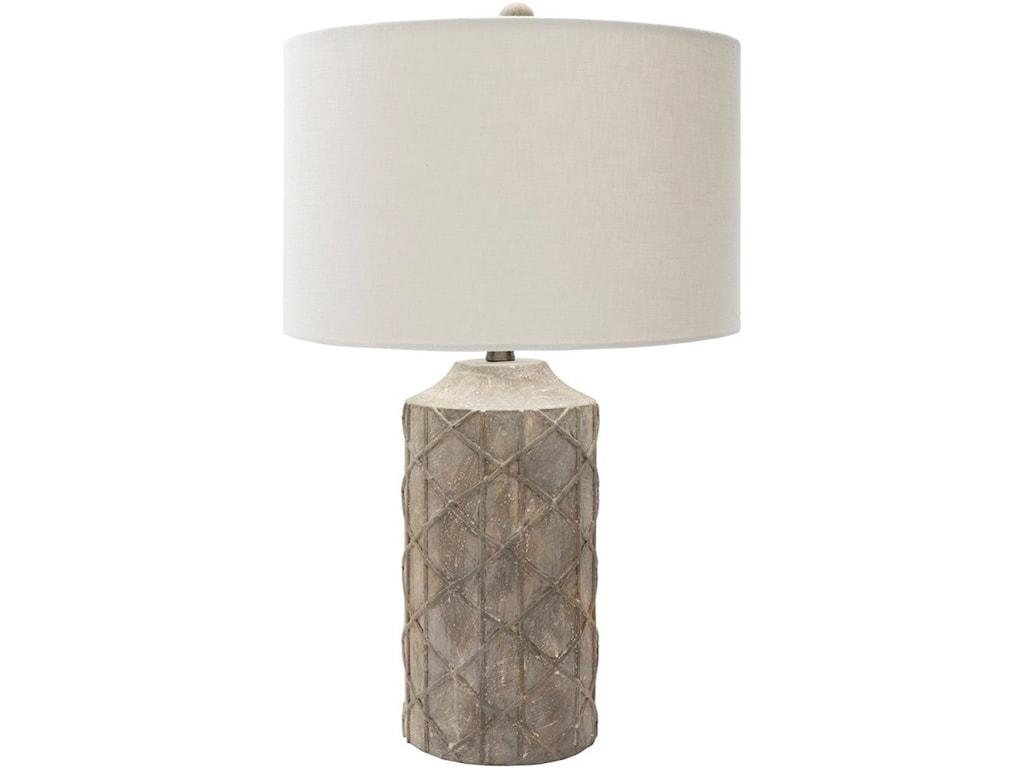 Surya BrendaAntique Rustic Table Lamp