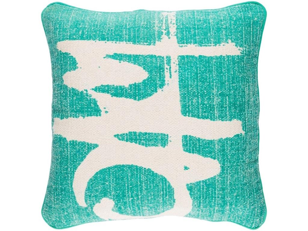 Surya Bristle20 x 20 x 4 Polyester Throw Pillow