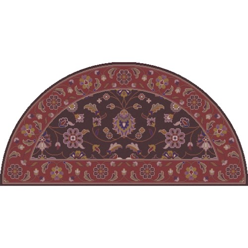 Surya Caesar 2' x 4' Hearth