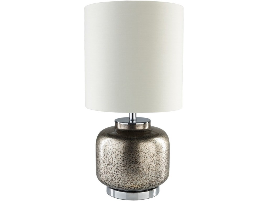 Surya CarmichaelPewter Table Lamp
