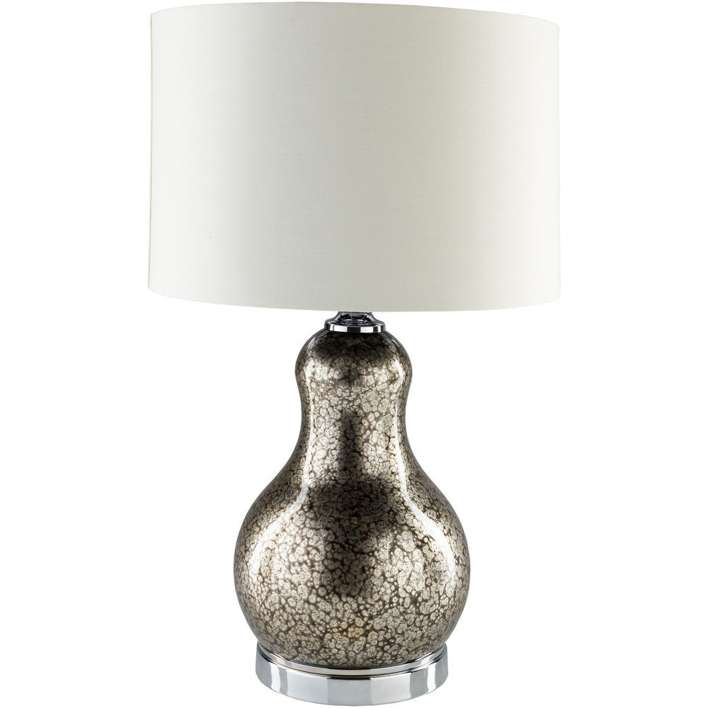 Carmichael CRM938 TBL Pewter Table Lamp By Surya