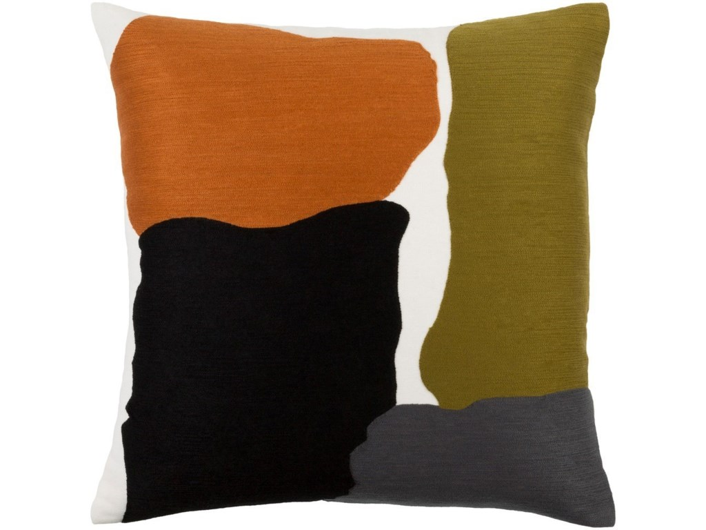 Surya Charade20 x 20 x 4 Polyester Throw Pillow