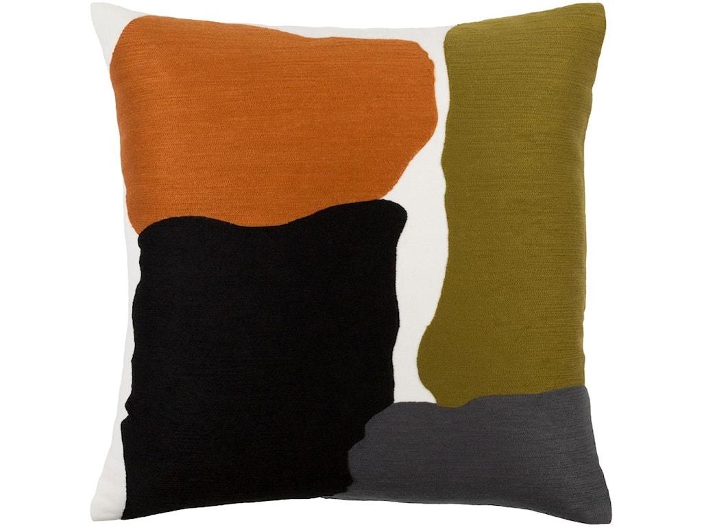 Surya Charade20 x 20 x 4 Polyester Throw Pillow