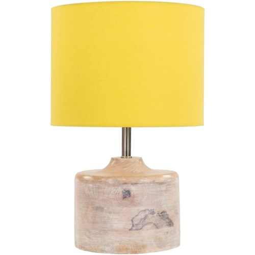 Surya Coast Natural Finish Contemporary Table Lamp
