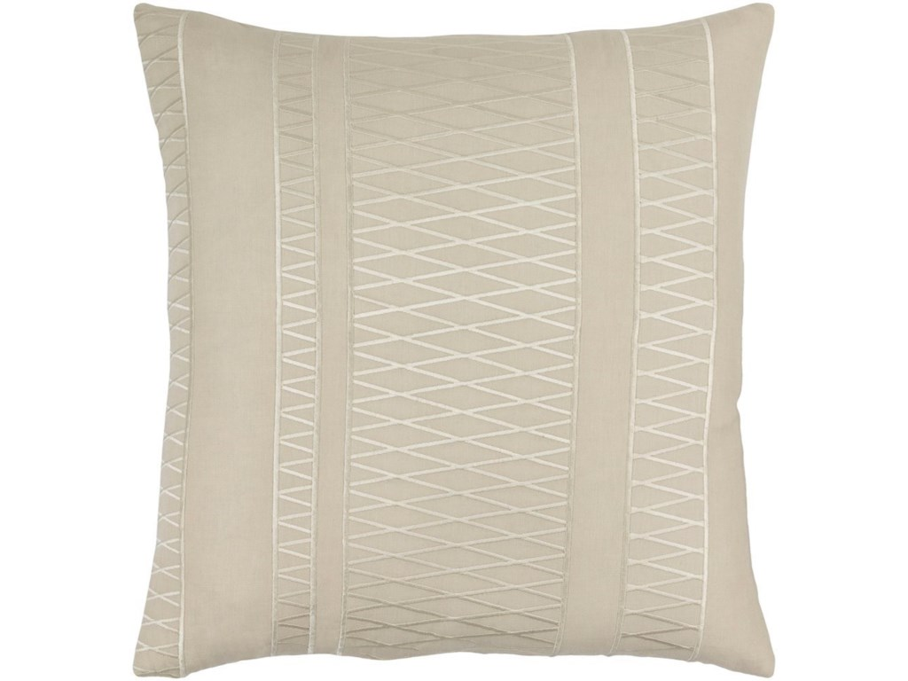 Surya Cora20 x 20 x 4 Polyester Throw Pillow