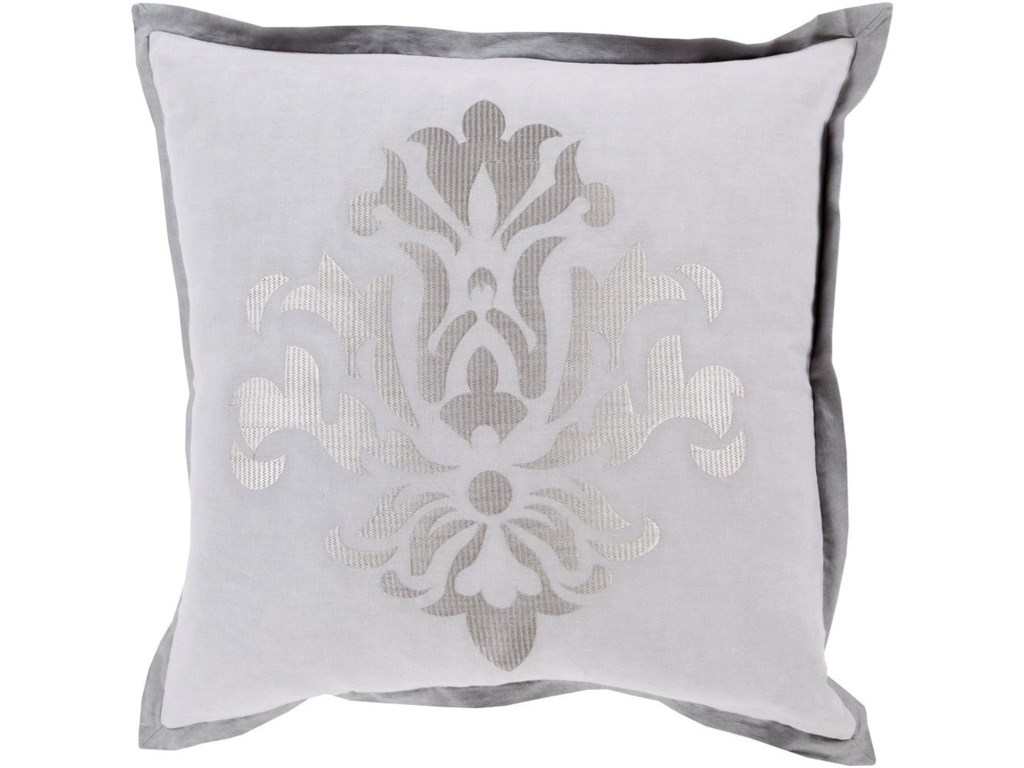 Surya Cosette22 x 22 x 5 Down Throw Pillow