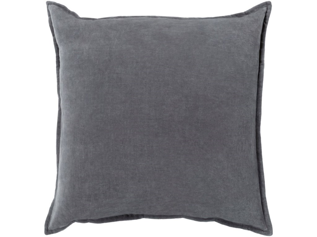 Surya Cotton Velvet13 x 19 x 4 Polyester Pillow Kit