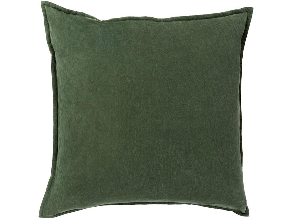 Surya Cotton Velvet13 x 19 x 4 Polyester Pillow Kit