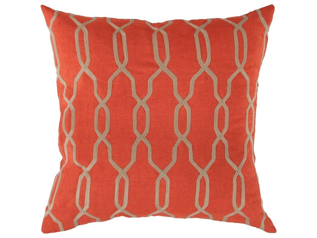 Surya Gates22 x 22 x 5 Down Throw Pillow