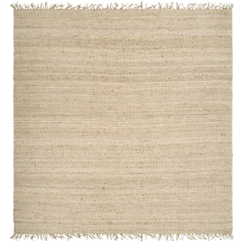 Surya Jute Bleached 8' Square