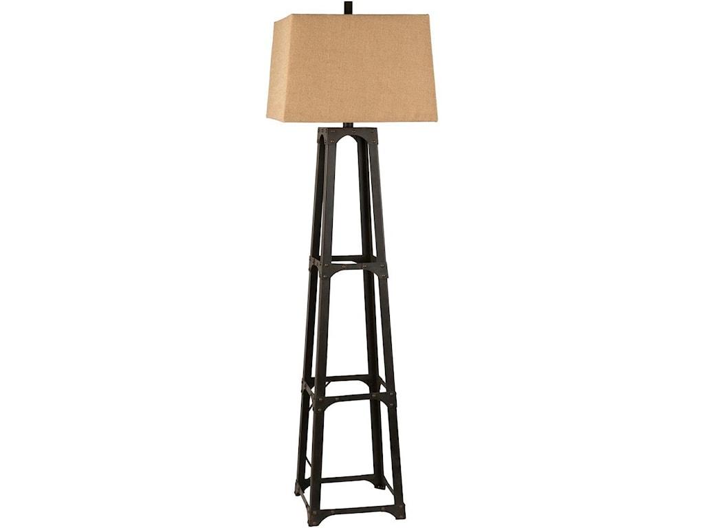 Surya Lamps Bronze Floor Lamp