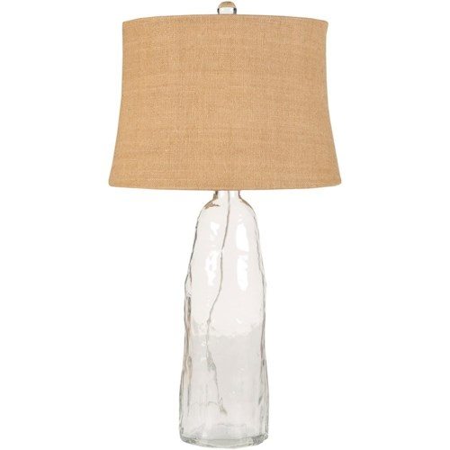 Surya lamps clear glass coastal table lamp rooms for less table surya lamps clear glass coastal table lamp aloadofball Image collections