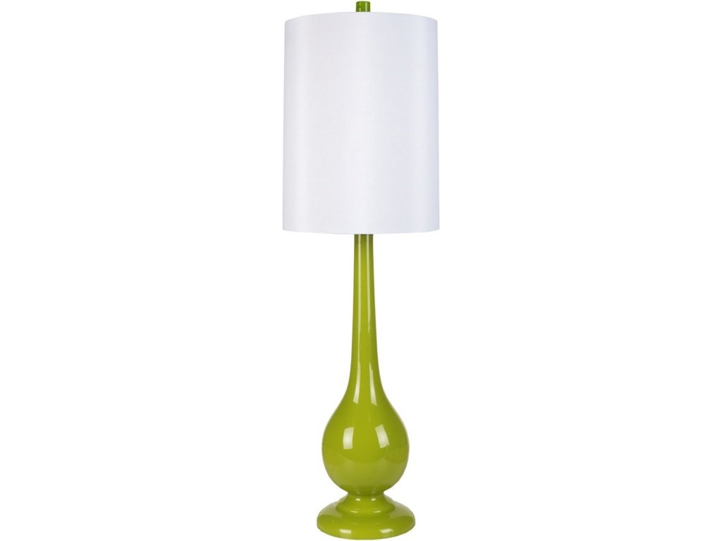 Surya lamps lmp 1054 lime modern table lamp john v schultz lamps lime modern table lamp by surya mozeypictures Choice Image