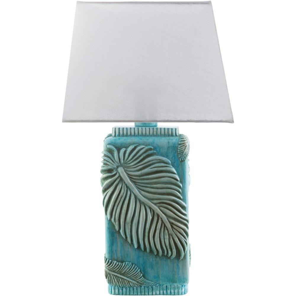Surya Lana Aqua Coastal Table Lamp