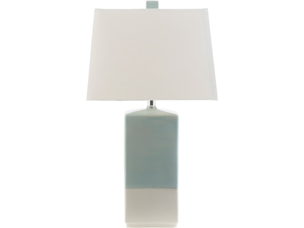 Surya malloy may260 tbl blue white coastal table lamp dunk malloy blue white coastal table lamp by surya mozeypictures Image collections