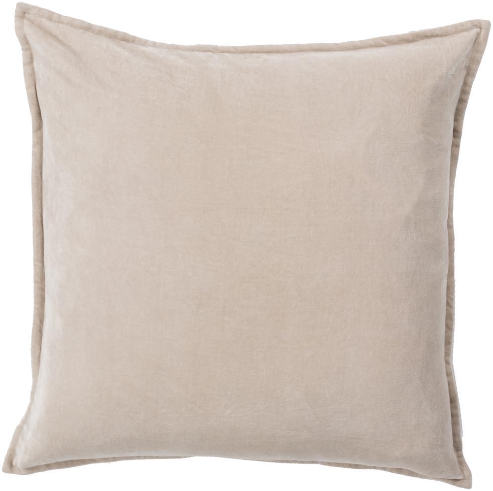 """18"""" x 18"""" Cotton Velvet Pillow"""