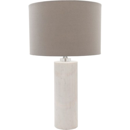 Natural Finish Glam Table Lamp